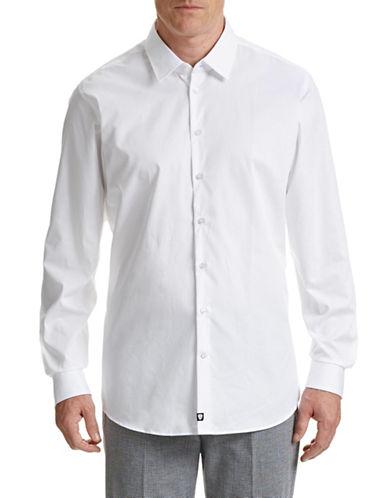 Strellson Slim-Fit Dress Shirt-WHITE-17-32/33