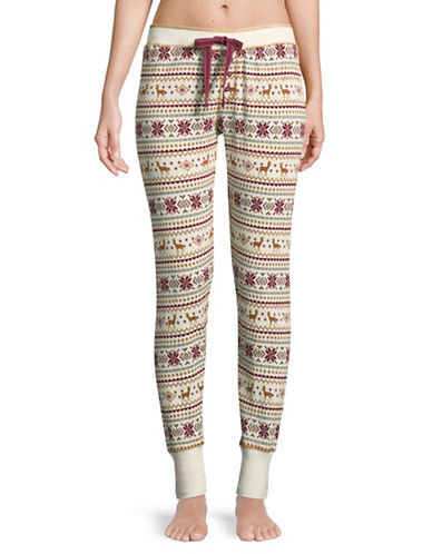 Pj Salvage Lost In Wonder Pyjama Pants-IVORY-Large