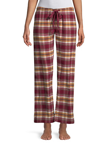 Pj Salvage Lost in Wonder Pajama Pants-BURGUNDY-Medium
