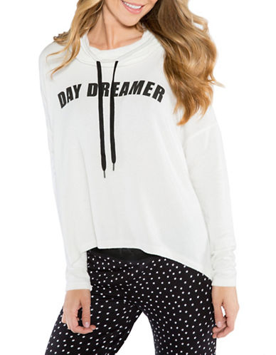 Pj Salvage Day Dreamer Graphic Hoodie-IVORY-X-Large