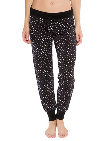 Pj Salvage Day Dreamer Star-Print Pants-BLACK-X-Large