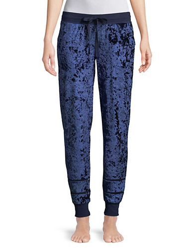 Pj Salvage Crushin It Velvet Pants-NAVY-X-Large