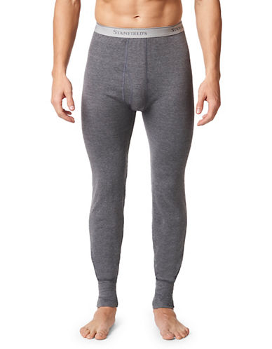 StanfieldS Two-Layer Insulating Long Underwear-CHARCOAL-Small