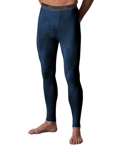 StanfieldS HeatFX Lightweight Long Johns-BLUE-Large