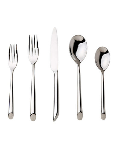Nambe Frond 5 Piece Place Setting-SILVER-One Size