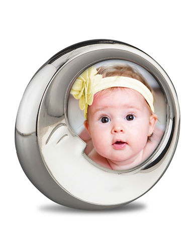 Nambe Baby Nambe Sleep Picture Frame-SILVER-One Size