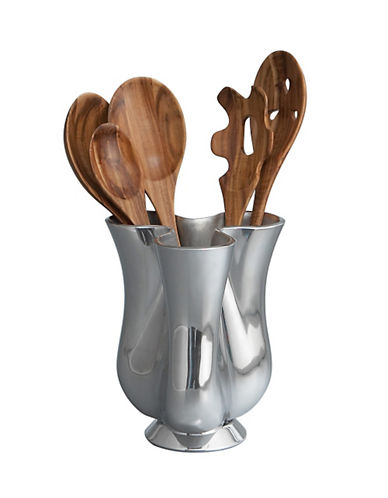 Nambe Tulip Jug With Tools-WOOD/ALLOY-One Size
