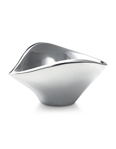 Nambe Bella Molded Bowl-SILVER-One Size