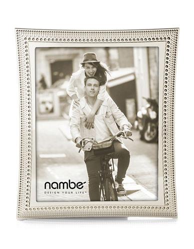 Nambe Beaded Frame 8x10-SILVER-8 x 10