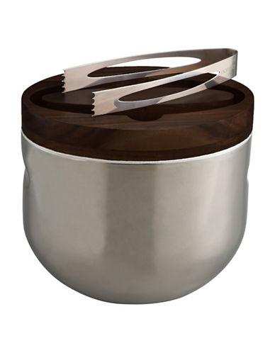 Nambe Mikko Ice Bucket-ESPRESSO-One Size