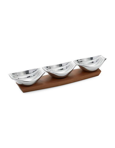 Nambe Drift Condiment Server-ALLOY-One Size