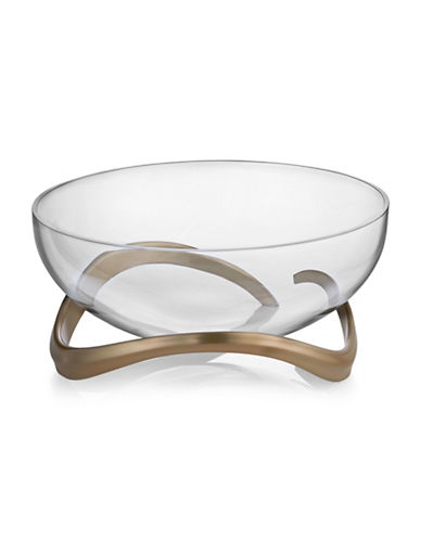 Nambe Eco Center Piece Bowl-BROWN-One Size