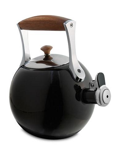 Nambe Meridian Tea Kettle-BLACK-One Size
