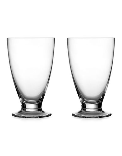 Nambe Skye Set of Two Tumblers-CLEAR-One Size