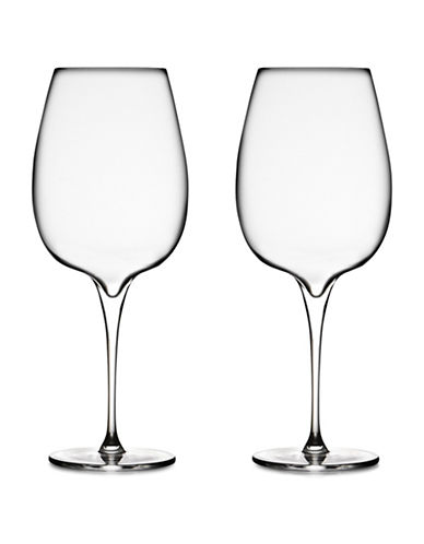 Nambe Set Of Two Vie Cabernet Glasses-CLEAR-One Size
