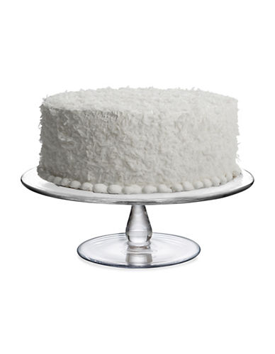 Nambe Moderne Cake Plate-CLEAR-One Size