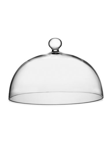 Nambe Moderne Cake Dome-CLEAR-One Size