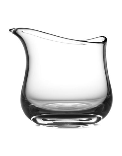 Nambe Moderne Short Art Vase-CLEAR-One Size