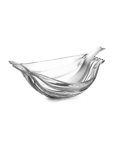 Nambe Glass Salad Bowl With Server-STAINLESS STEEL-One Size