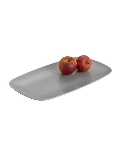 Nambe Pop Rectangular Platter-SLATE-One Size