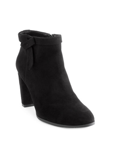 Bandolino Bando Belluna Dress Booties-BLACK-6.5