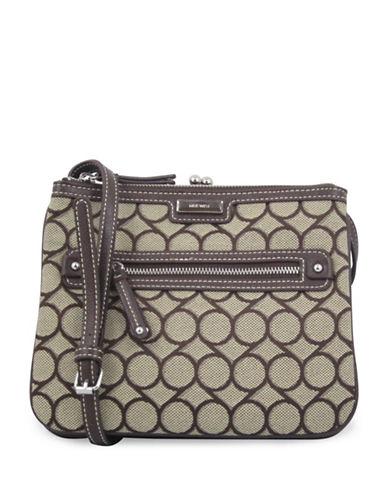 Nine West Jaya Crossbody Bag-BROWN-One Size