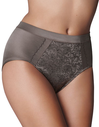 Wonderbra Tummy Control Brief-DEEP TAUPE-Large