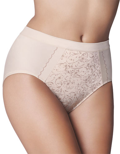 Wonderbra Tummy Control Brief-SEASHELL-XX-Large