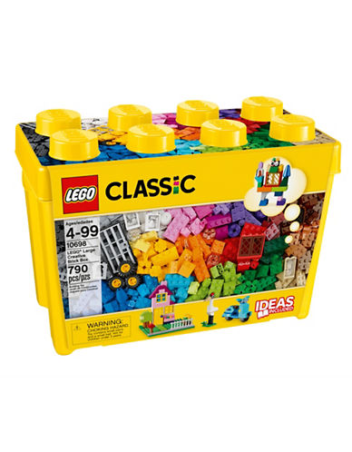 Lego Classic Large Creative Brick Box 10698-MULTI-One Size