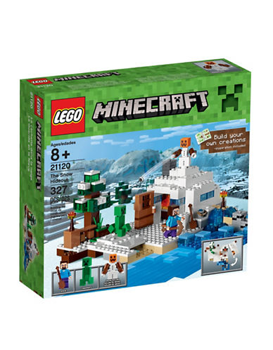 Lego Minecraft The Snow Hideout 21120-MULTI-One Size