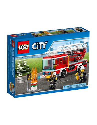 Lego City Fire Ladder Truck 60107-MULTI-One Size
