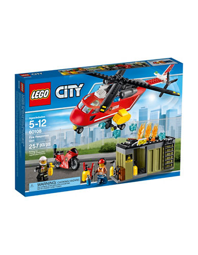 Lego City Fire Response Unit 60108-MULTI-One Size