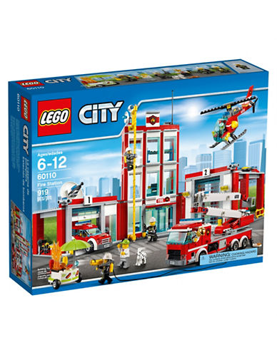 Lego City Fire Fire Station 60110-MULTI-One Size