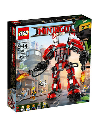Lego The Ninjago Movie Fire Mech-MULTI-One Size