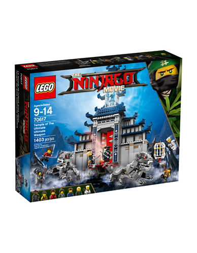 Lego The Ninjago Movie Temple of the Ultimate Weapon 70617-MULTI-One Size