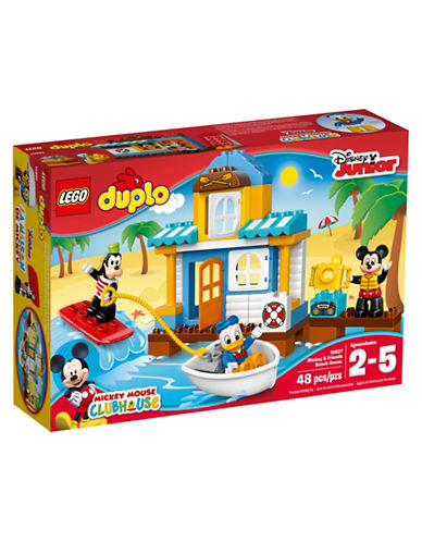 Lego Duplo Disney Mickey and Friends Beach House 10827-MULTI-One Size