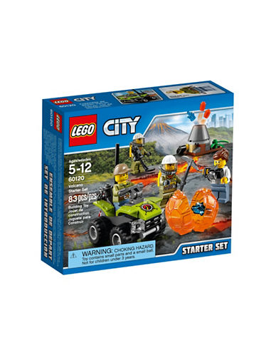 Lego City Volcano Explorers Volcano Starter Set 60120-MULTI-One Size