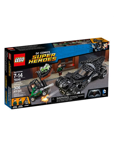 Lego DC Comics Super Heroes Kryptonite Interception 76045-MULTI-One Size