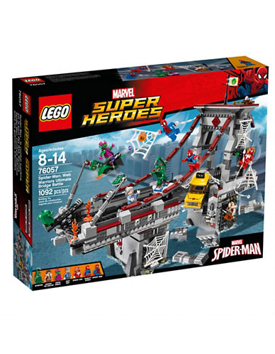 Lego Marvel Super Heroes SpiderMan Web Warriors Ultimate Bridge 76057-MULTI-One Size 88631512_MULTI_One Size