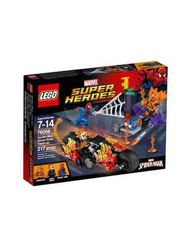 Lego Marvel Super Heroes Spider-Man Ghost Rider Teamup 76058-MULTI-One Size
