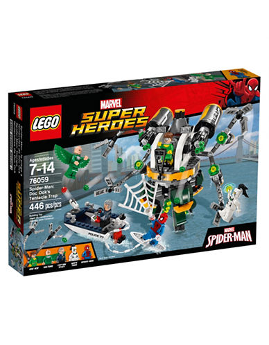 Lego Marvel Super Heroes Spider-Man Doc Ocks Tentacle Trap 76059-MULTI-One Size
