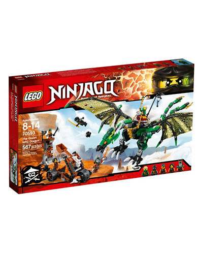 Lego Ninjago The Green NRG Dragon-MULTI-One Size