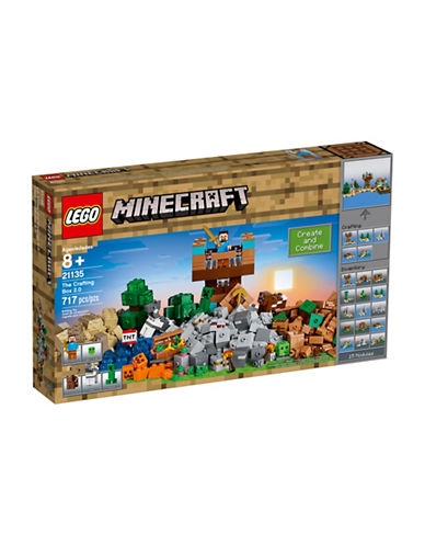 Lego Minecraft The Crafting Box 2.0-MULTI-One Size