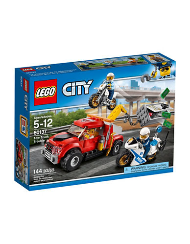 Lego City Police Tow Truck Trouble 60137-MULTI-One Size