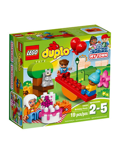 Lego DUPLO Town Birthday Picnic 10832-MULTI-One Size