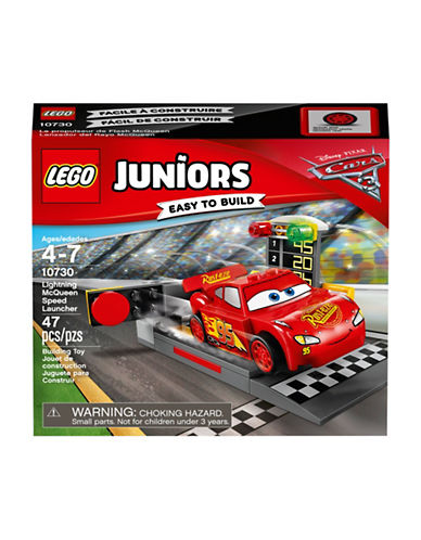 Lego Juniors Cars 3 Lightning McQueen Speed Launcher 10730-ASSORTED-One Size