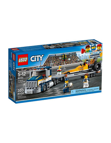 Lego City Great Vehicles Dragster Transporter 60151-MULTI-One Size