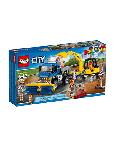 Lego City Great Vehicles Sweeper and Excavator 60152-MULTI-One Size