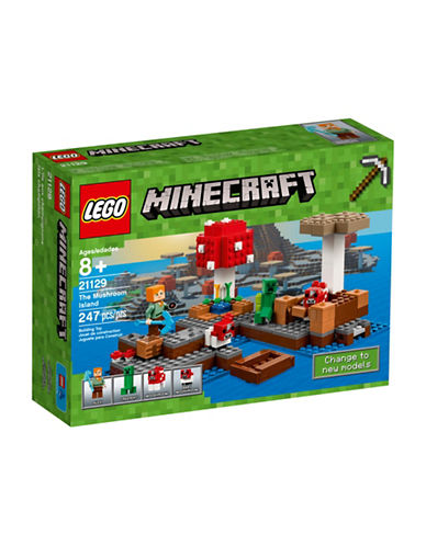 Lego Minecraft The Mushroom Island 21129-MULTI-One Size