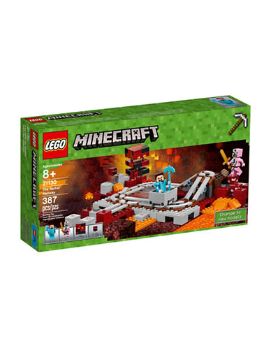 Lego Minecraft The Nether Railway 21130-MULTI-One Size
